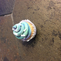 Hand made cup cake doll size
