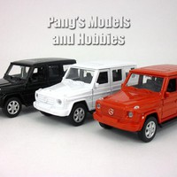 4.75 Inch MERCEDES-BENZ G-Class G500 Wagon 1/32 Scale Diecast Metal Model by Welly
