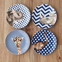 White Porcelain Tray Tableware Dishes and Plates Ceramic Dinner Dishes for Restaurant Serving Plates Kitchen Plates 1Piece