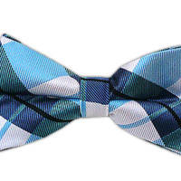 Monster Madras - Mystic Blue (Bow Ties) from TheTieBar.com - Wear Your Good Tie Everyday
