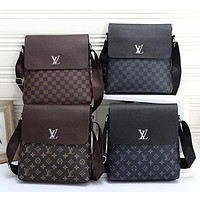 Louis Vuitton LV Monogram Men's Fashionable Clutch Shoulder Bag