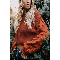 Memphis Cropped Sweater