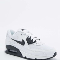Nike Air Max 90 Essential White and Black Trainers - Urban Outfitters