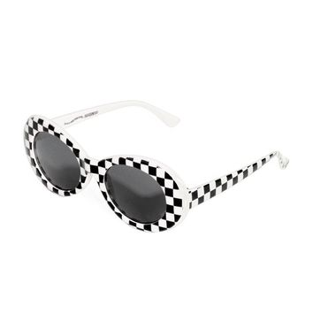 Nevermind Sunglasses in Race Flag