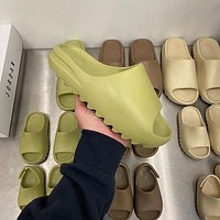 """Adidas Yeezy Slide 350 Boots """"Desert Sand"""" coconut outdoor style beach sand wading slippers Shoes"""