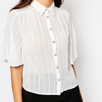 Girls On Film Loose Fit Shirt at asos.com