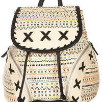 Mexican Stitch Backpack - New In This Week - New In - Topshop