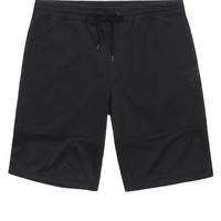 On The Byas Andy Mesh Pieced Shorts - Mens Shorts - Black