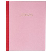 Probably Late For Something Hardbound Undated Planner in Pink