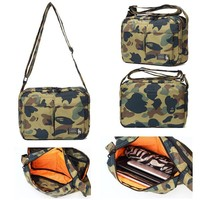 One Shoulder Korean Camouflage Men Bags Messenger Bags [10507738887]