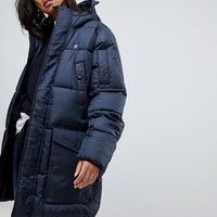 G-Star recycled polyester parka with hood at asos.com