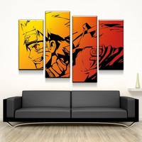 Naruto Art Canvas Set