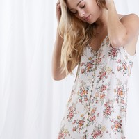 Midweek Blooms Button Up Dress