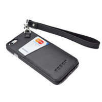 iPhone 6 / 6s Clip Leather Case with Wristlet and Neck Lanyard
