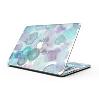 Green Blotted WaterColor Texture - MacBook Pro with Retina Display Full-Coverage Skin Kit
