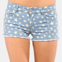 Star Bright Shorts - Blue
