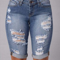 PEAPIH3 Jeans for women short jeans shorts cowgirl