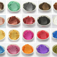 20g Healthy Natural Mineral Mica Powder DIY For Soap Dye Soap Colorant makeup Eyeshadow Soap Powder Skin Care Free Shipping