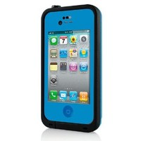Water proof Shockproof Case Life Dirt Proof Durable Cover Fits Apple Iphone 4 4s (no box) (Blue)