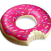 """Balance Living® Inflatable Donut Floating Pool Toy (48"""" diameter)"""