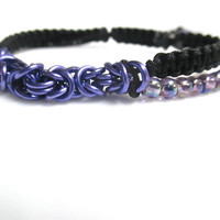 Chainmaille Knotted Bracelet