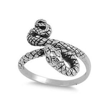 SLYTHERIN Ring - Sterling Silver