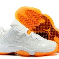 Cheap Nike Air Jordan 11 Retro Low GS Men Shoes Citrus Hot Sale
