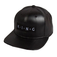Kings Apparel Lab Snapback In Black
