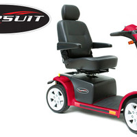 Pursuit Power Mobility Scooter S713 - Pride Mobility 4-Wheel Full Size Scooters   TopMobility.com