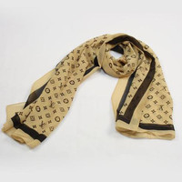LV Woman Fashion Accessories Sunscreen Cape Scarf Scarves