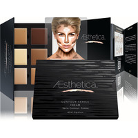 Fashion Aesthetica Cosmetics Cream Contour and Highlighting Makeup Kit - Contouring Foundation / Concealer Palette [6364091460]