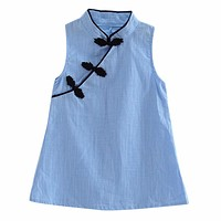 Baby Girls Dress Solid Color Vintage Kids Cotton Linen Sleeveless Dresses Party Costume Children Clothes