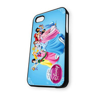 Walt Disney Princesses (World Snow White Ariel The Little Mermaid Beauty And The Beast) iPhone 4/4S Case