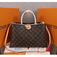 new lv louis vuitton womens leather shoulder bag lv tote lv handbag lv shopping bag lv messenger bags 425