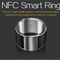 GalaRing G1 Men's NFC Smart Ring for Smartphone with Unlock Smartphone & Exchange Data Function Big size (Black)