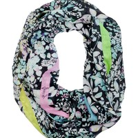 Ever After Floral Infinity Scarf by Juicy Couture
