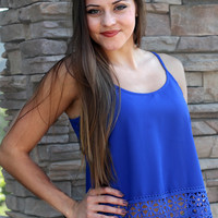 Made To Stand Out Cami Blue