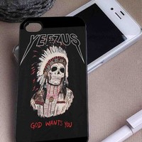 Yeezus God Wants You | Art | iPhone 4 4S 5 5S 5C 6 6+ Case | Samsung Galaxy S3 S4 S5 Cover | HTC Cases