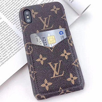Louis Vuitton LV Fashion iPhone Case for iPhone 7 7plus 8 8plus X XR XS MAX 11 Pro Max 12 Mini 12 Pro Max Phone Case 1
