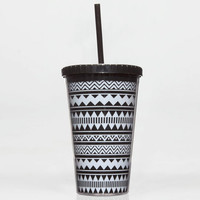 Aztec Tumbler Black/White One Size For Women 22976912501