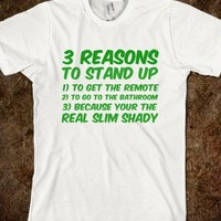 3 Reasons To Stand Up - Tee Time Baby