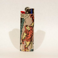 Iron Man Comic Book Lighter