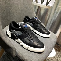 Balenciaga Men's Leather Fashion Sneakers Shoes