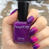 Pink/Purple Thermal Nail Polish