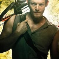 The Walking Dead Poster fea. Norman Reedus as Daryl Dixon, 24x36