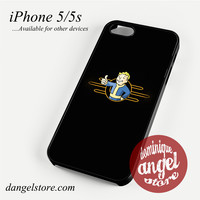 Fallout 4 Logo Phone case for iPhone 4/4s/5/5c/5s/6/6 plus