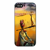 Salvador Dali Woman With Flower Head Vogue iPhone 5 Case