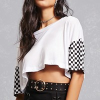 Vintage Graphic Cropped Tee