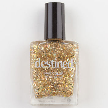 Destined Nail Color Gold One Size For Women 22996762101