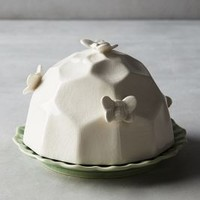Honeybee Butter Dish by Anthropologie in Green Size: Butter Dish House & Home